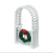 "Department 56 Snow Village ""Picket Lane Archway"" Accessory #4025468"