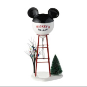 """Department 56 Disney """"Mickey Water Tower"""" Accessory #4028300"""