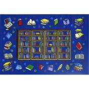 Fun Rugs Reading Time Kids\' Rug, Blue