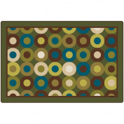 Carpets for Kids Calming Circles Nature's Colours Kids Rug