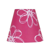 Mainstays Pink Floral Accent Shade