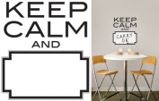 """Wall Pops """"Keep Calm"""" Dry Erase Wall Quote Decal"""