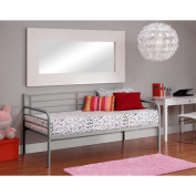 Dorel Home Products Twin Daybed, Silver