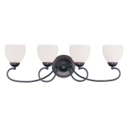 Livex Lighting Brookside 4 Light Bath Vanity Light
