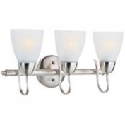 Boston Harbour A2242-93L Vanity Bar Fixture, 60 W, 3 Light
