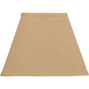 Square Lamp Shade, Gold
