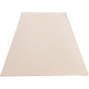 Square Lamp Shade, Ivory