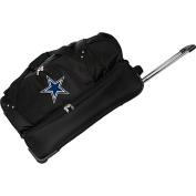 Denco Sports Luggage NFL Dallas Cowboys 70cm Drop Bottom Wheeled Duffel Bag