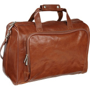 AmeriLeather 46cm Leather Carry on Weekend Duffel