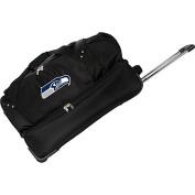 Denco Sports Luggage NFL Seattle Seahawks 70cm Drop Bottom Wheeled Duffel Bag