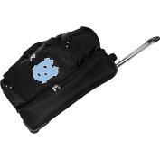 Denco Sports Luggage NCAA University of North Carolina Tar Heels 70cm Drop Bottom Wheeled Duffel Bag