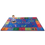 Kid Carpet Alphabet and Numbers Teaching Toddler Area Rug