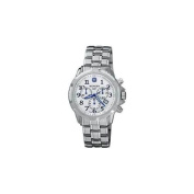 Wenger GST Chrono Watch, Silver Dial - Bracelet -