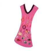 Honey-Can-Do Pink Dress Jewellery Organiser