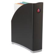 Storex Industries Corp 70114B06C Black Magazine File