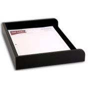 Dacasso A1068 Black Leather Side Load Letter Tray