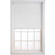 Newell Window Fashions 190cm x 200cm White Heavy Weight Room Darkening filter