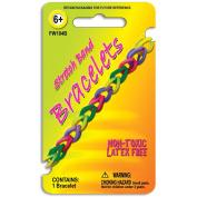 Pepperell FW104B Stretch Band Bracelet 1-Pkg-