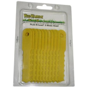 Weed Warrior Push-N-Load Replacement Blades, 12pc