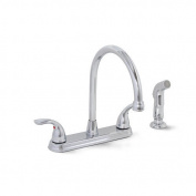 Westlake Kitchen Faucet Hi Arc With Spray Lead Free Brushed Nickel