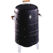 Meco Charcoal & Water Smoker w/ 2 Levels Of Cooking