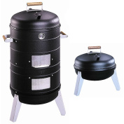 Southern Country 2-in-1 Water Smoker and Charcoal Grill