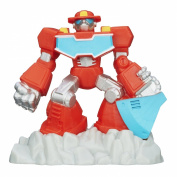 Playskool Heroes Transformers Rescue Bots Beam Box Heatwave Game Pack