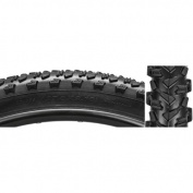 Sunlite Crusader CST1435A MTB Tyre, 70cm x 5.3cm , Black/Black