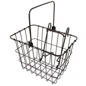 Wald 114GB Lift-Off Compact Front Bike Basket Black