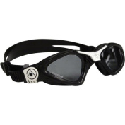Aqua Sphere Kayenne Lady Goggles Black/White with Smoke Lens