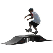 Skateboard BMX Double Ramp with Centre Table