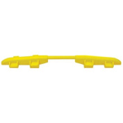 Cross-Guard CPRL-1X125-Y Polyurethane ADA Compliant Rail for Linebacker GP 1 Channel Heavy Duty Cable Protectors