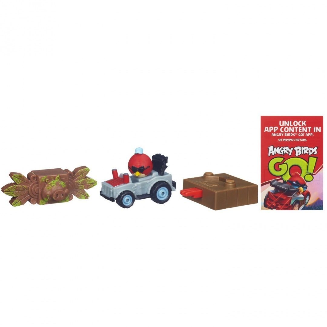 Angry Birds Go! Telepods Jenga Terence's Mega Truck Game
