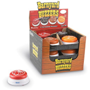 Learning Resources Barnyard Buzzers, Set of 12