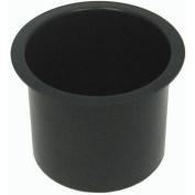 Trademark Poker Jumbo Aluminium Black Poker Table Cup Holders Set, Of 10
