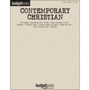 Hal Leonard Contemporary Christian - Budget Books arranged for piano, vocal, and guitar
