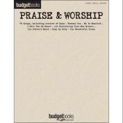 Hal Leonard Praise & Worship - Budget Books arranged for piano, vocal, and guitar