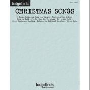 Hal Leonard Christmas Songs - Budget Books Series For Easy Piano