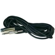 Audiopipe MC10 Mic Cord 20ft 0.6cm to 3 Pin Xlrnippon