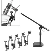 Musician's Gear Drum Microphone Mount Kit 5 - Pack