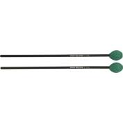 Mike Balter Contemporary Series Black Birch Marimba Mallets Black Birch Green Yarn Medium Hard