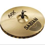 Sabian AAX X-celerator Hi-Hat Cymbals Brilliant 36cm
