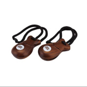 Meinl Finger Castanets Pair Rosewood Traditional