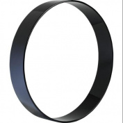 Sound Percussion Extended Resonant Side Bass Drum Hoop 22x4 Piano Black