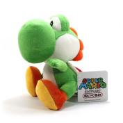 Super Mario Green Yoshi Soft Plush Toy - 6.5 Super Soft by Sanei