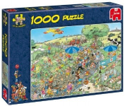 the March 1000 Piece Jigsaw Puzzle by Jumbo - Free UK P&P