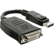 4XEM DisplayPort to DVI-D Single Link Adapter M/F Cable, 2.7m