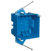 Carlon Lamson and Sessons B432A-UPCn 10cm Square 32 Cubic Inch 4 Gang Switch and Outlet Box