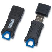 GorillaDrive 8GB Ruggedized USB Flash Drive, Black