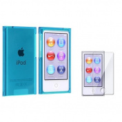 INSTEN Colour Plastic Hard Cover Case Skin For iPod Nano 7G 7th Generation 7+Protector
